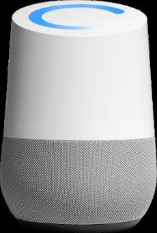 google home lautsprecher mit sprachsteuerung weiss g nstig kaufen sprachgesteuerte. Black Bedroom Furniture Sets. Home Design Ideas