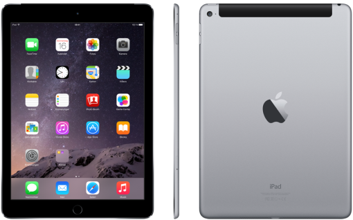 apple ipad air 2 64 gb wi fi cellular spacegrau. Black Bedroom Furniture Sets. Home Design Ideas