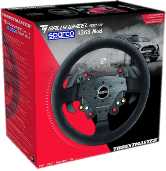 thrustmaster sparco r383 lenkrad f r pc ps4 ps3 xbox. Black Bedroom Furniture Sets. Home Design Ideas