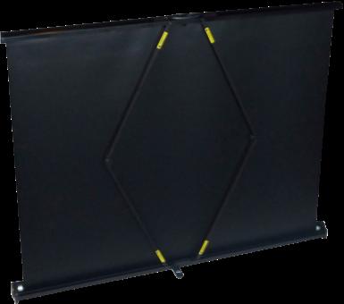 lumene tableshow 80v tragbare leinwand f r tischpr sentation 4 3 81 x 61 cm schwarz. Black Bedroom Furniture Sets. Home Design Ideas