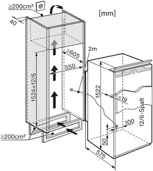 miele k 35582 55 idf gauche r frig rateurs encastrables largeur standard de sms 55 cm. Black Bedroom Furniture Sets. Home Design Ideas