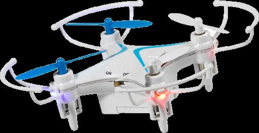 vivanco mini quadrocopter drohne 5 7 min weiss g nstig kaufen drohne media markt. Black Bedroom Furniture Sets. Home Design Ideas