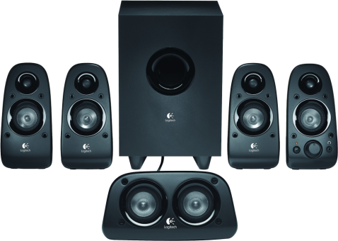 logitech surround sound speakers z506 g nstig kaufen pc. Black Bedroom Furniture Sets. Home Design Ideas