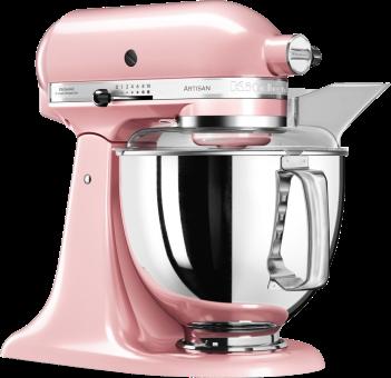 kitchenaid artisan robot p tissier multifonction 4 8 l rose ustensiles de cuisine. Black Bedroom Furniture Sets. Home Design Ideas