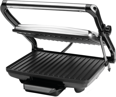 koenig b02315 sandwichgrill panini 2000 w chrom schwarz g nstig kaufen kontaktgrill. Black Bedroom Furniture Sets. Home Design Ideas