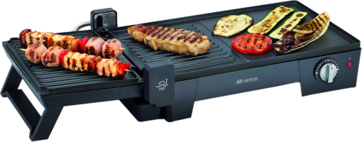 ariete multigrill 3 in 1 elektrische grill 2400 w schwarz g nstig kaufen elektrogrill. Black Bedroom Furniture Sets. Home Design Ideas