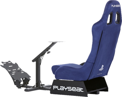 playseat evolution playstation si ge pour joueur bleu. Black Bedroom Furniture Sets. Home Design Ideas