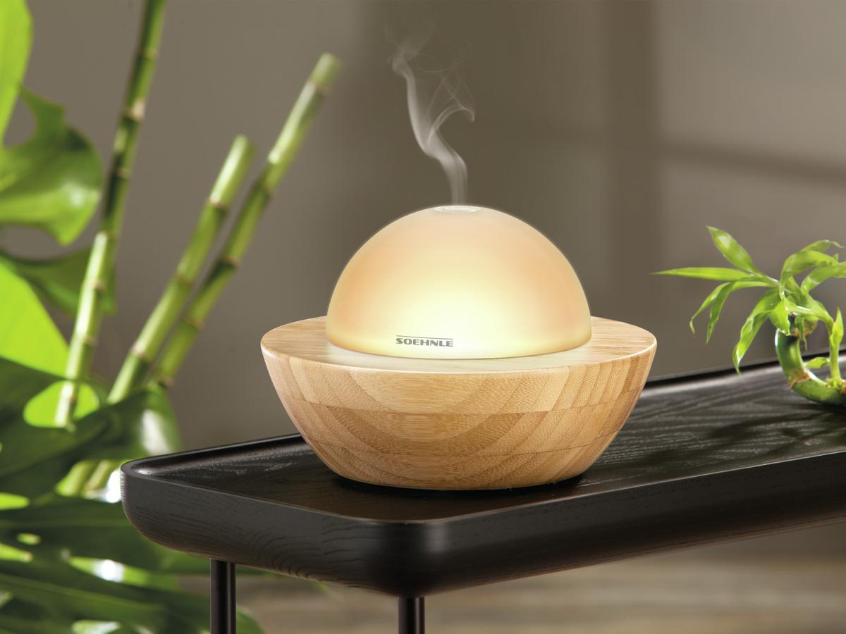 soehnle modena aroma diffuser farbwechsel braun g nstig kaufen luftbefeuchter maximale. Black Bedroom Furniture Sets. Home Design Ideas