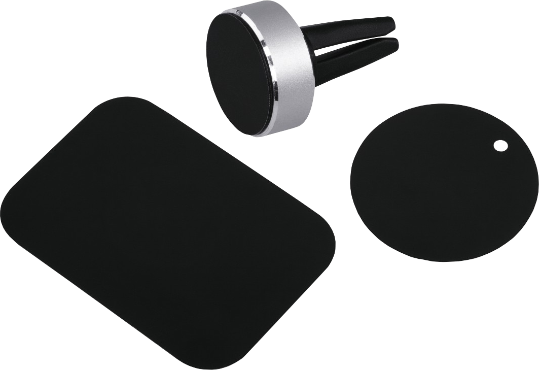 Hama magnet alu smartphone halter universal silber for Minimalistisches smartphone