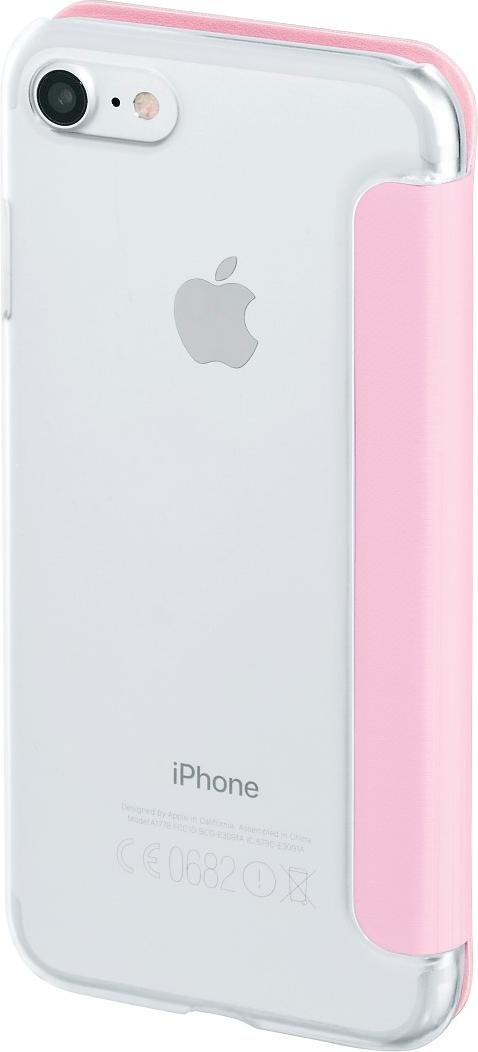 hama clear f r apple iphone 7 pink g nstig kaufen. Black Bedroom Furniture Sets. Home Design Ideas