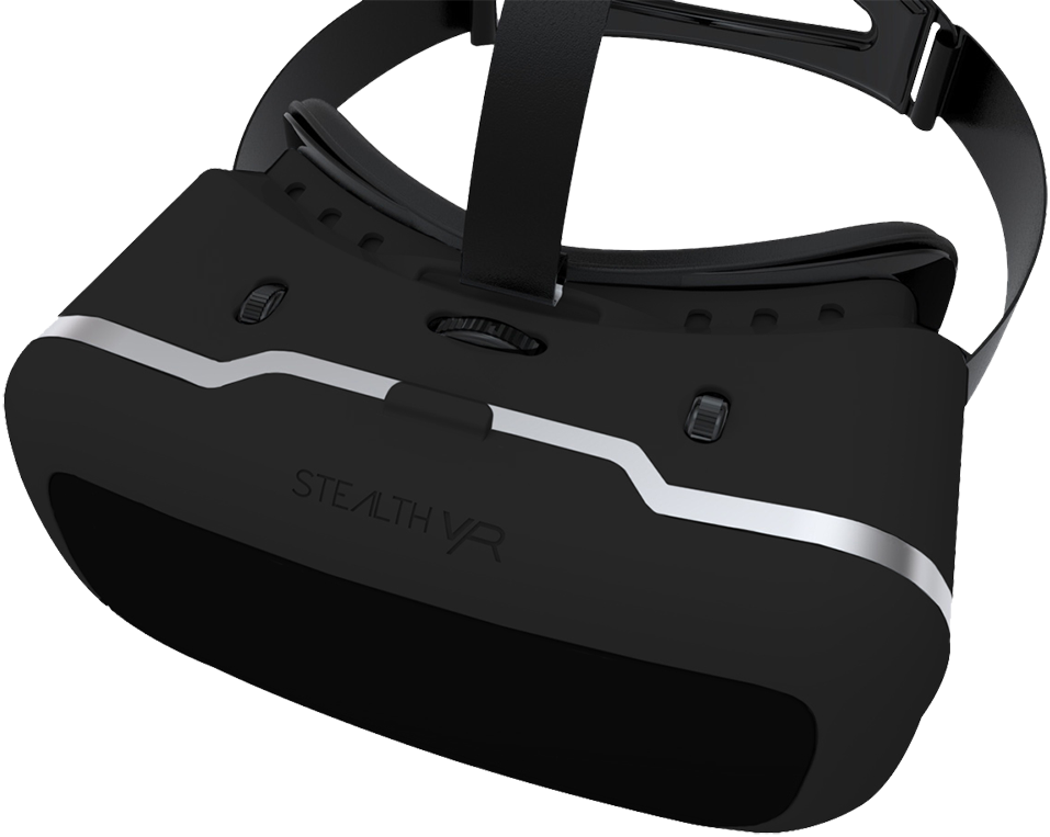 stealth vr200 virtual reality headset f r iphone. Black Bedroom Furniture Sets. Home Design Ideas