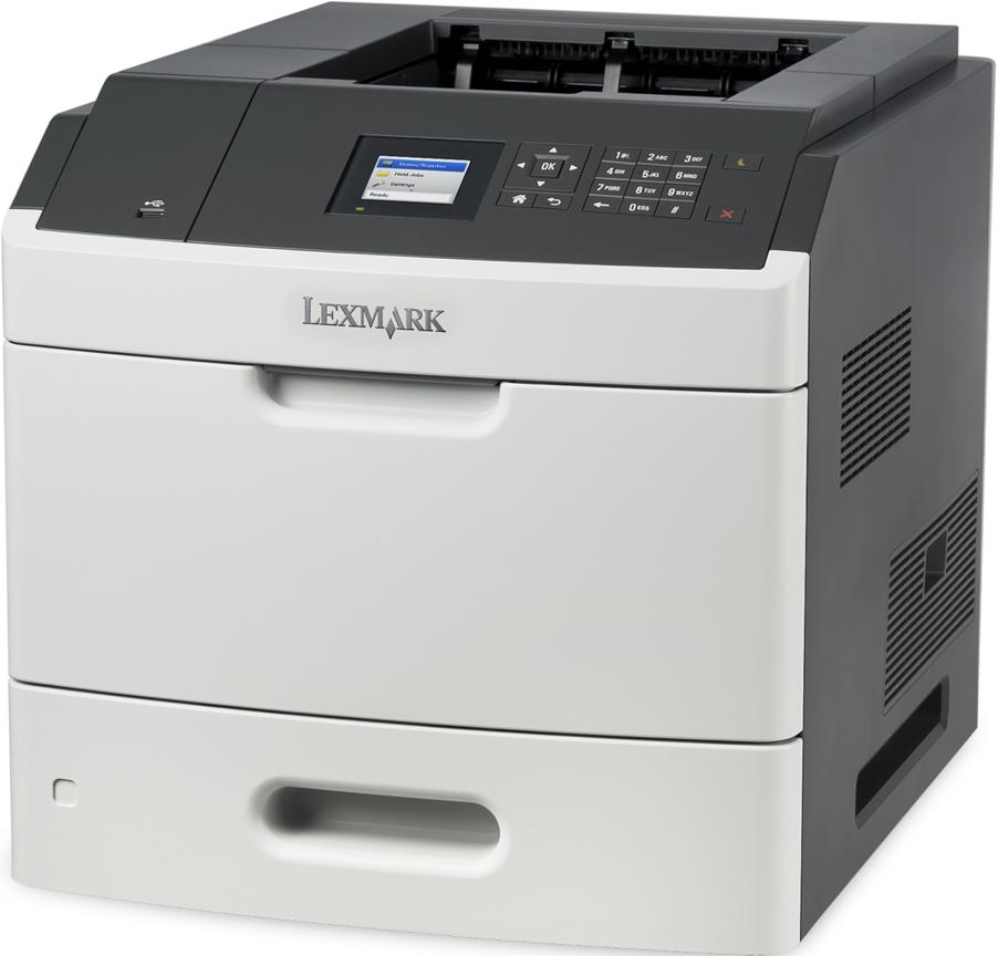 lexmark ms810dn schwarzweiss laserdrucker bis zu 52. Black Bedroom Furniture Sets. Home Design Ideas