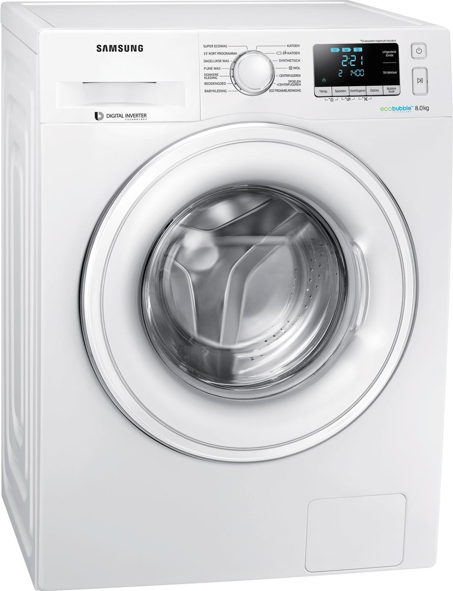samsung ww80j5436dw ws waschmaschine energieeffizienzklasse a weiss g nstig kaufen 8. Black Bedroom Furniture Sets. Home Design Ideas