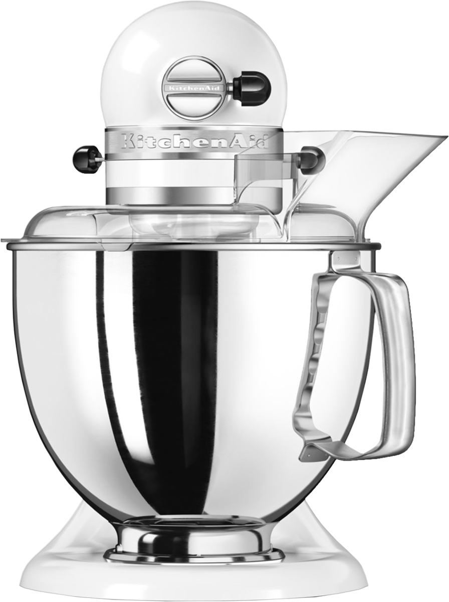 kitchenaid artisan robot p tissier multifonction 4 8 l blanc ustensiles de cuisine. Black Bedroom Furniture Sets. Home Design Ideas