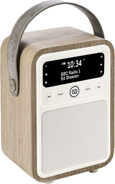 view quest monty digitalradio dab green grass oak. Black Bedroom Furniture Sets. Home Design Ideas