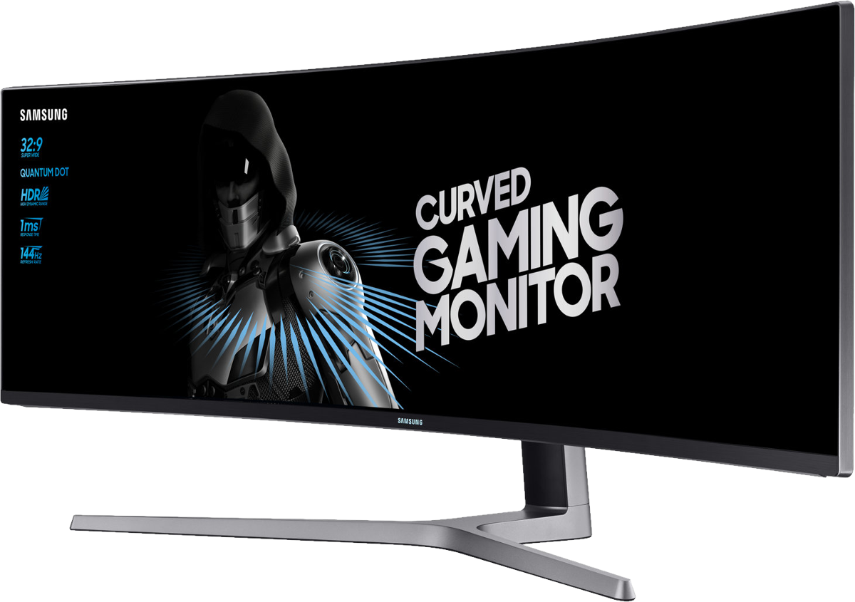 samsung lc49hg90 curved gaming monitor 49 123 cm. Black Bedroom Furniture Sets. Home Design Ideas