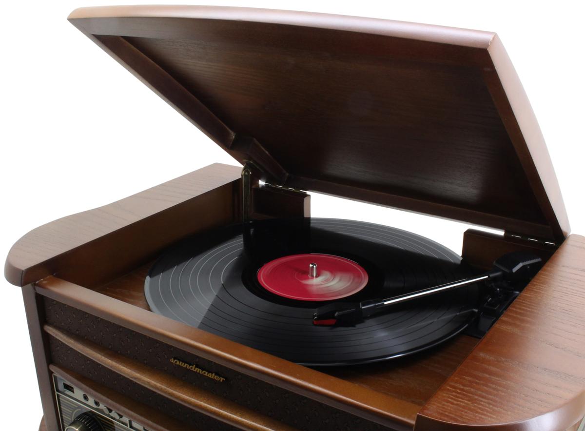 soundmaster nr545dab nostalgie center dab. Black Bedroom Furniture Sets. Home Design Ideas