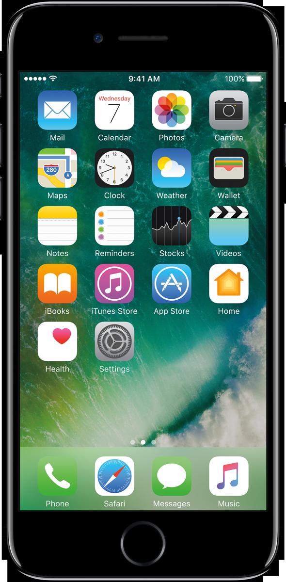 apple iphone 7 ios smartphone 128 gb diamantschwarz. Black Bedroom Furniture Sets. Home Design Ideas