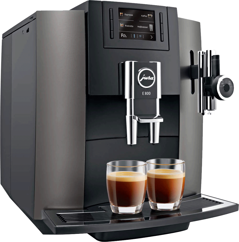 jura e800 machine caf automatique 1450 watts dark. Black Bedroom Furniture Sets. Home Design Ideas