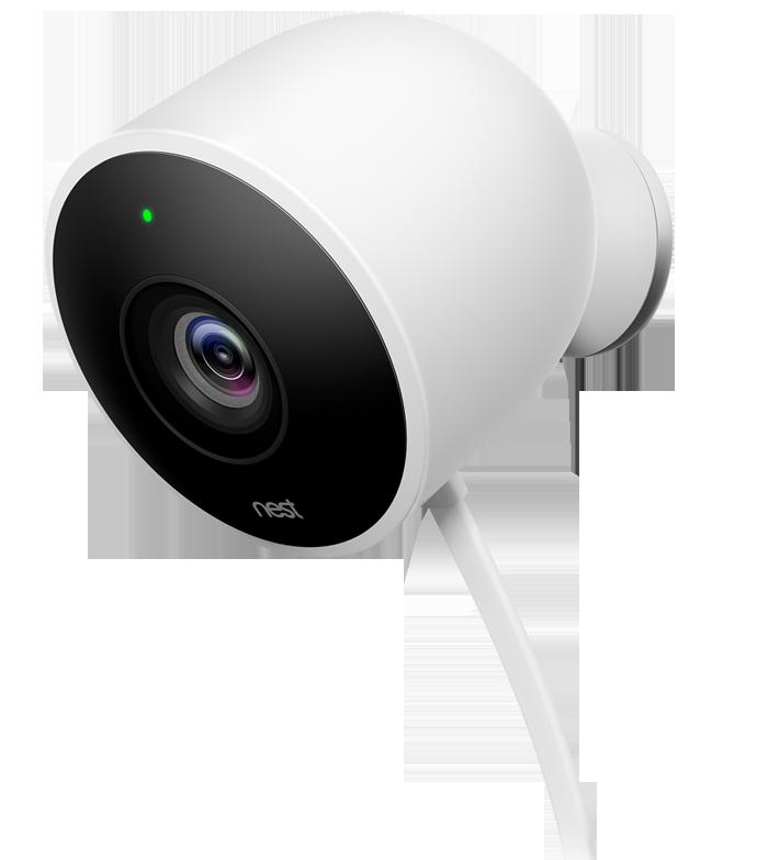 nest cam outdoor berwachungskamera hd weiss g nstig kaufen einzelkamera media markt. Black Bedroom Furniture Sets. Home Design Ideas