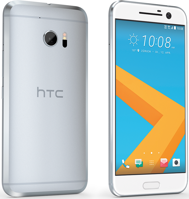 htc 10 android smartphone 32 gb speicher silber. Black Bedroom Furniture Sets. Home Design Ideas