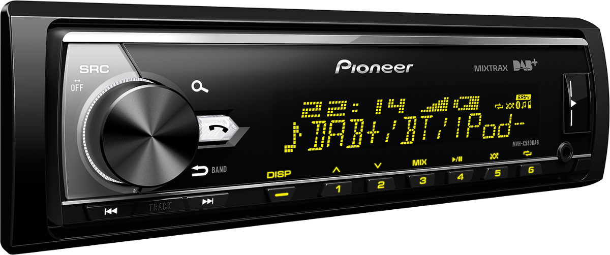 pioneer mvh x580dab autoradio dab dab noir radio voiture 1 din acheter bas prix. Black Bedroom Furniture Sets. Home Design Ideas