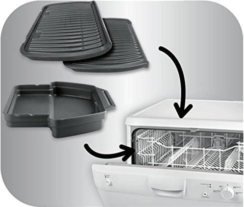 tefal gc712d optigrill kontaktgrill 2000 watt grillfl che 600 cm schwarz silber. Black Bedroom Furniture Sets. Home Design Ideas
