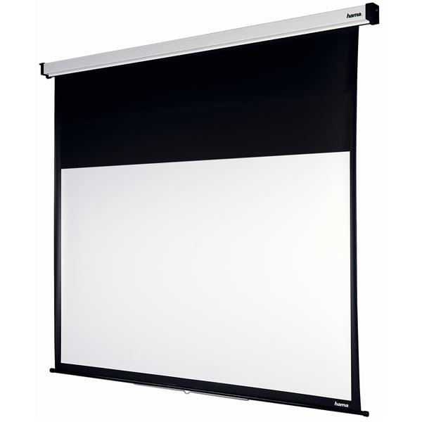 hama rollo projektionswand g nstig kaufen 50 99 leinw nde media markt online shop. Black Bedroom Furniture Sets. Home Design Ideas