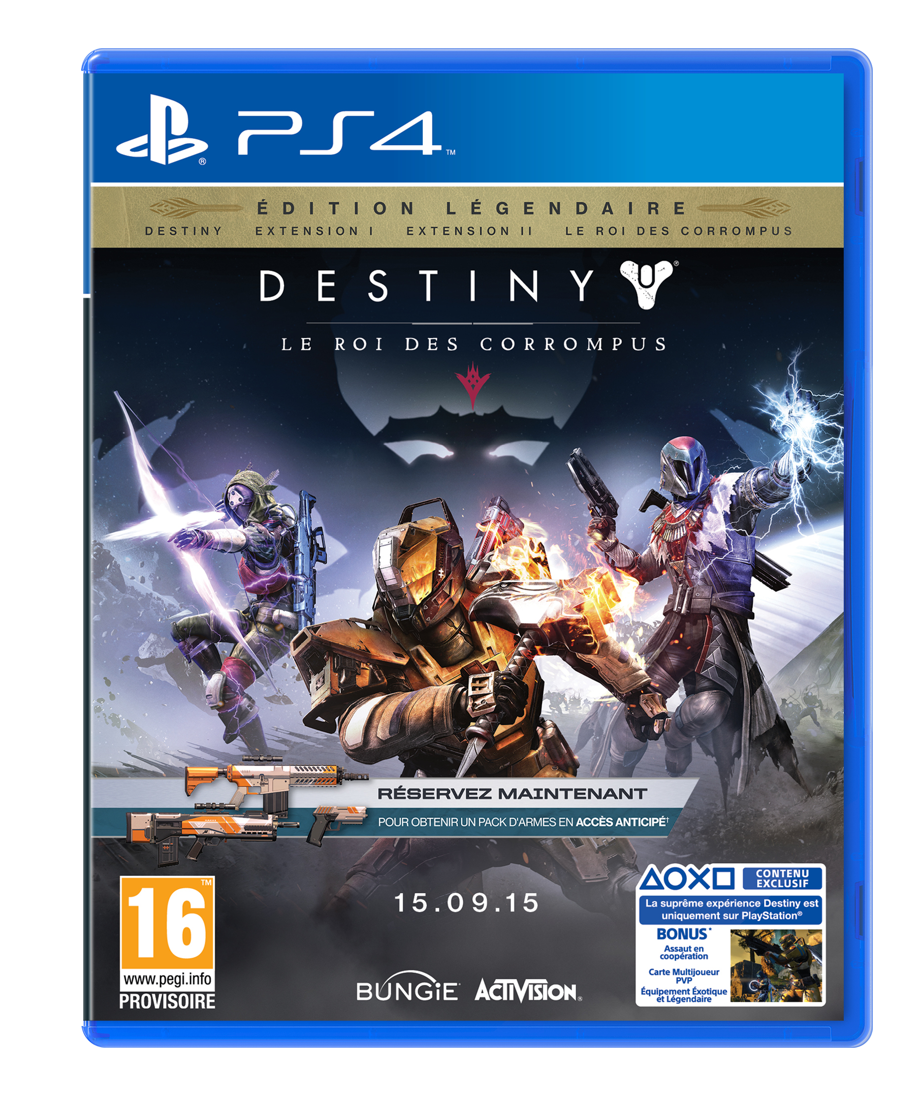 sony playstation 4 limited destiny edition franz sisch. Black Bedroom Furniture Sets. Home Design Ideas