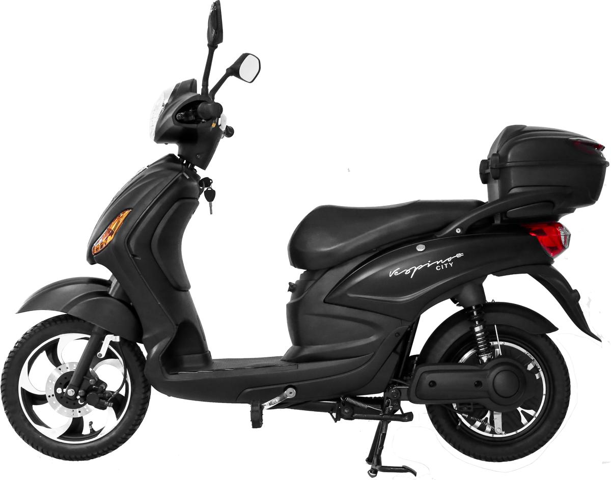 Vespino City Electro Scooter 25 Km H Black Matte