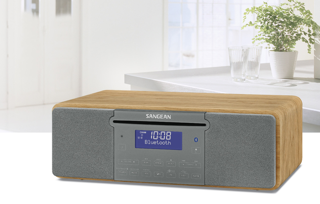 sangean ddr 47bt braun g nstig kaufen dab radios. Black Bedroom Furniture Sets. Home Design Ideas