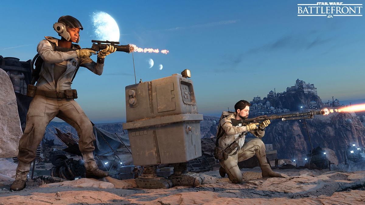 Star wars battlefront ultimate edition ps4 version allemande jeux ps4 action acheter - Jeux en ligne ps4 ...