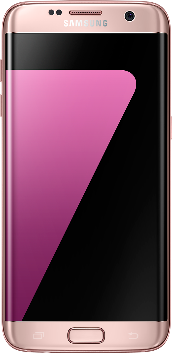 samsung galaxy s7 edge android smartphone 32 gb pink. Black Bedroom Furniture Sets. Home Design Ideas