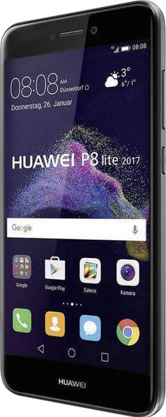 huawei p8 lite 2017 android smartphone 4g schwarz. Black Bedroom Furniture Sets. Home Design Ideas
