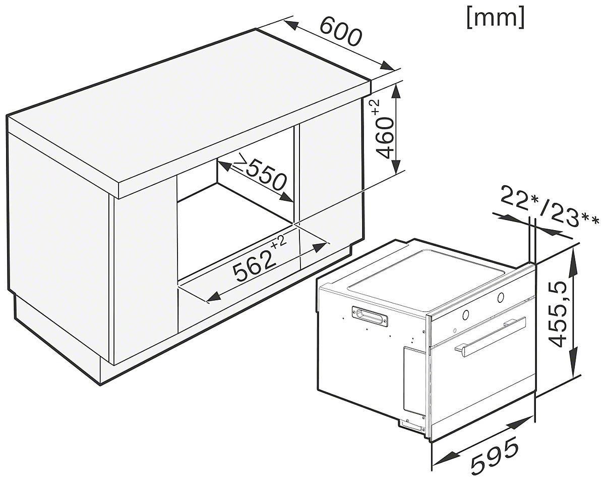 miele m 6262 tc schwarz g nstig kaufen mikrowellen euro norm breite 60 cm bis h he 46 cm. Black Bedroom Furniture Sets. Home Design Ideas