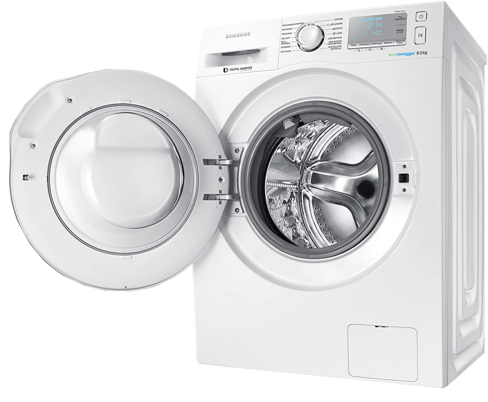 Samsung ww80j6403ew ws lave linge frontlader classe d for Machine a laver nettoyage