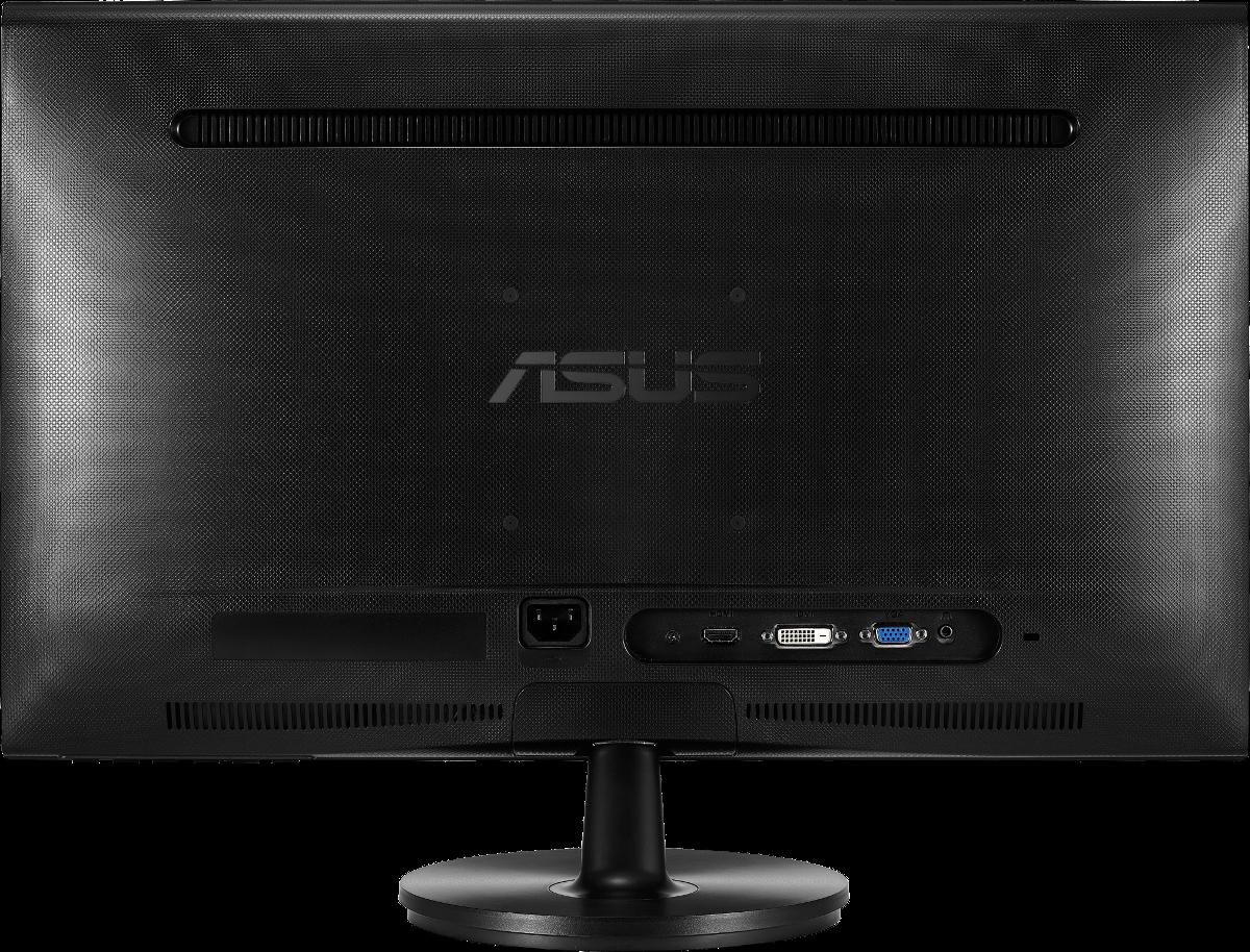 asus vs247hr monitor 23 6 59 9 cm schwarz g nstig. Black Bedroom Furniture Sets. Home Design Ideas