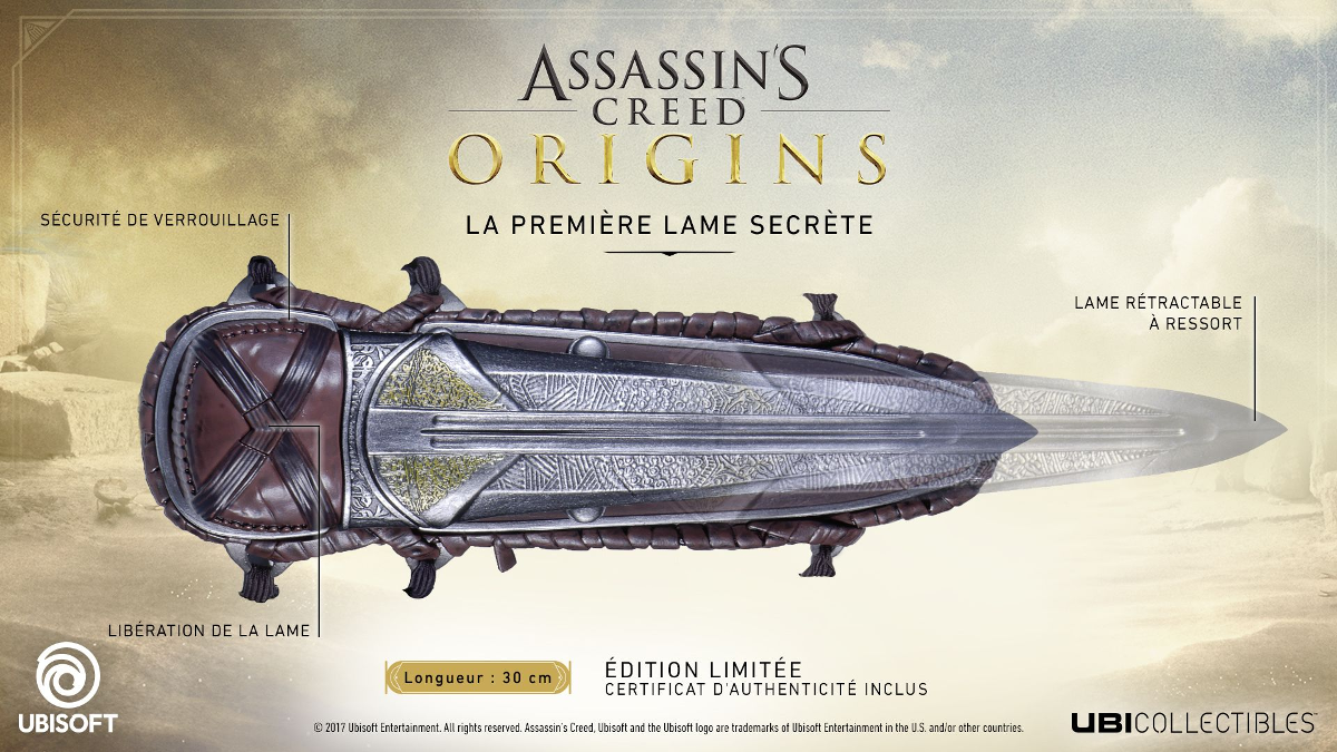 UBISOFT Assassin\'s Creed: Origins Hidden Blade - Erste versteckte ...