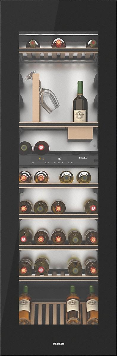 miele kwt 6722 igs cave vin encastrable clairage. Black Bedroom Furniture Sets. Home Design Ideas