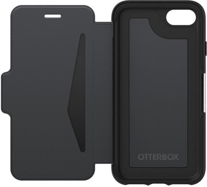 otterbox strada series f r iphone 7 schwarz g nstig. Black Bedroom Furniture Sets. Home Design Ideas