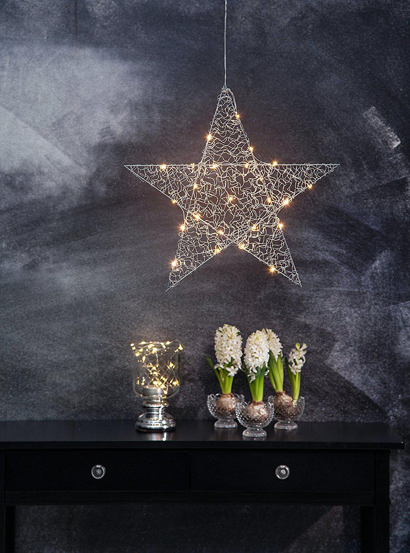 star trading loop star weihnachtsbeleuchtung 24x led 39 s silber g nstig kaufen. Black Bedroom Furniture Sets. Home Design Ideas