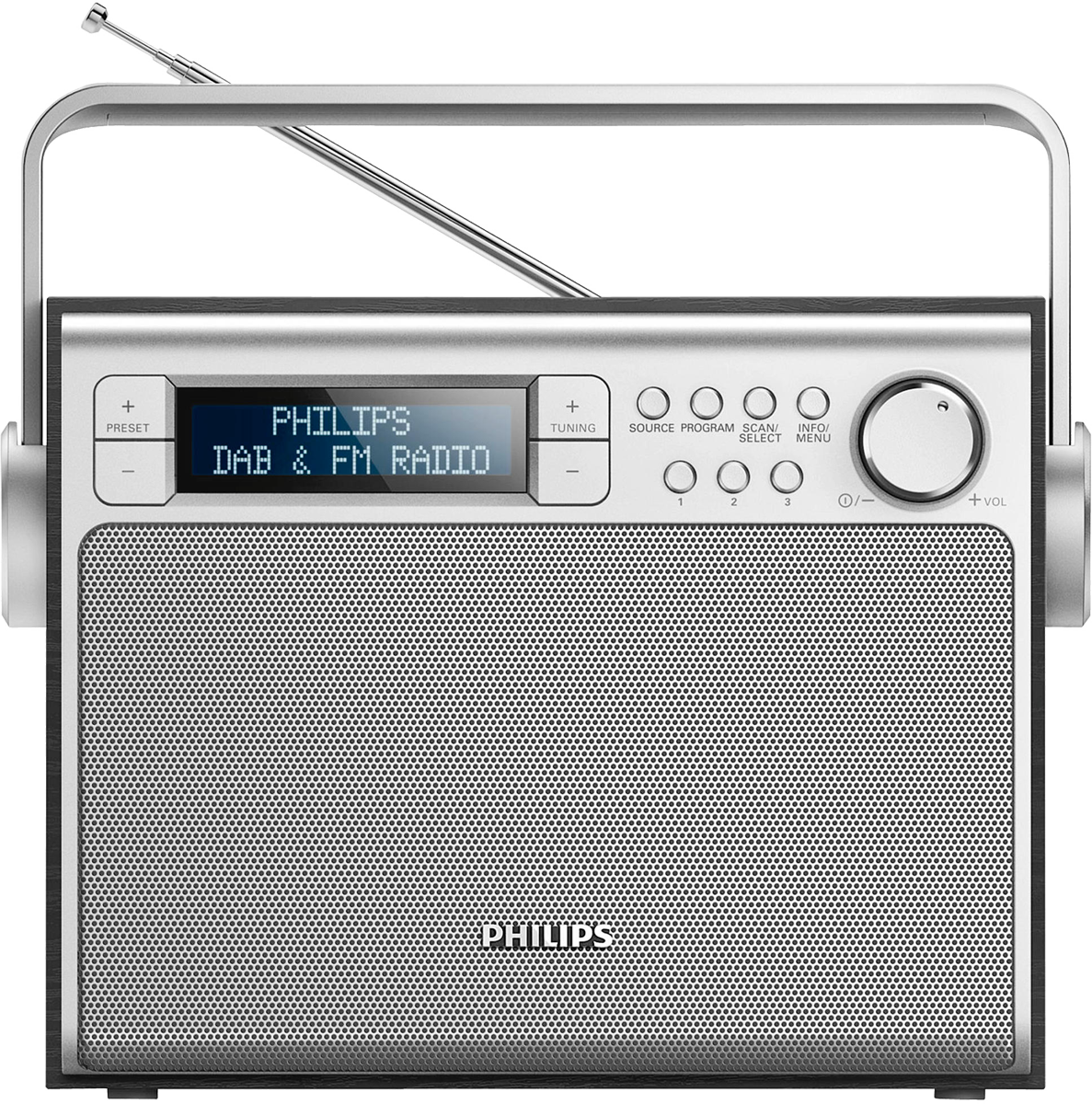 philips ae5020b 12 dab radio acheter bas prix. Black Bedroom Furniture Sets. Home Design Ideas
