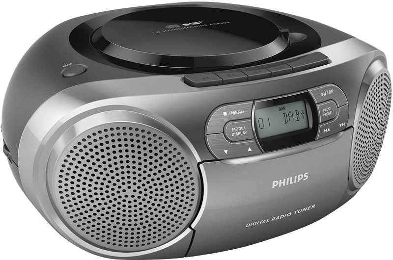philips cd soundmachine azb600 g nstig kaufen dab radio. Black Bedroom Furniture Sets. Home Design Ideas