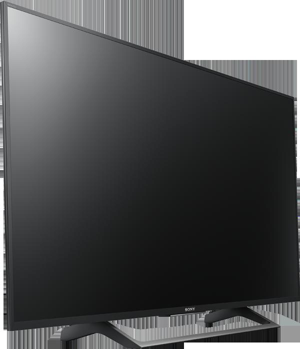 sony kd 43xe8005 lcd led tv 43 4k hdr smart tv schwarz silber g nstig kaufen uhd. Black Bedroom Furniture Sets. Home Design Ideas