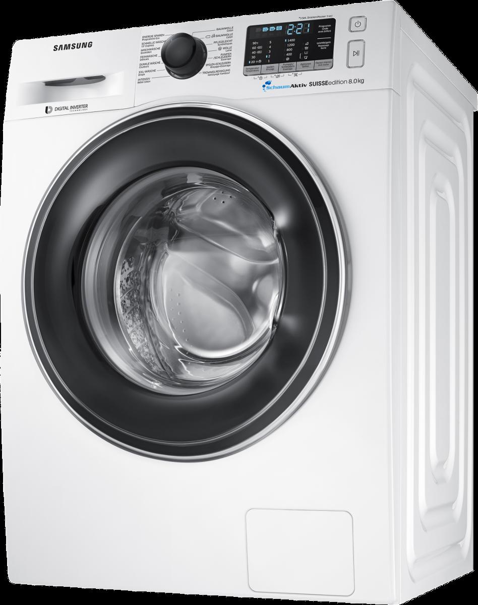 samsung ww80j5455ew ws waschmaschine 8 kg weiss g nstig kaufen 8 kg media markt online. Black Bedroom Furniture Sets. Home Design Ideas