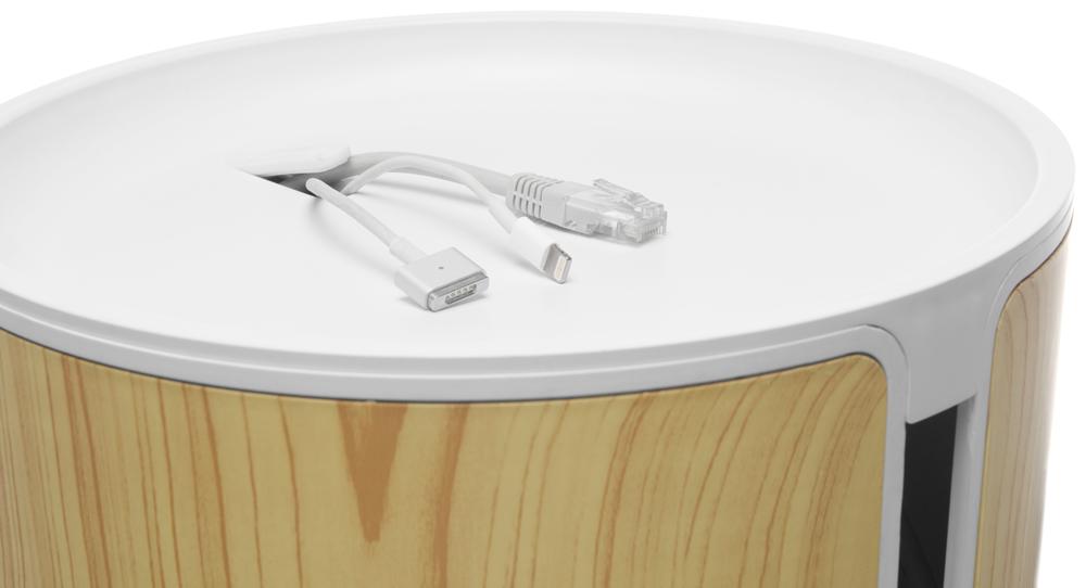 bluelounge cablebin helles holz g nstig kaufen kabelrollen boxen media markt online shop. Black Bedroom Furniture Sets. Home Design Ideas