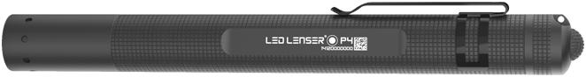 ledlenser p4 stiftlampe 18 lumen schwarz g nstig kaufen taschenlampen media markt. Black Bedroom Furniture Sets. Home Design Ideas