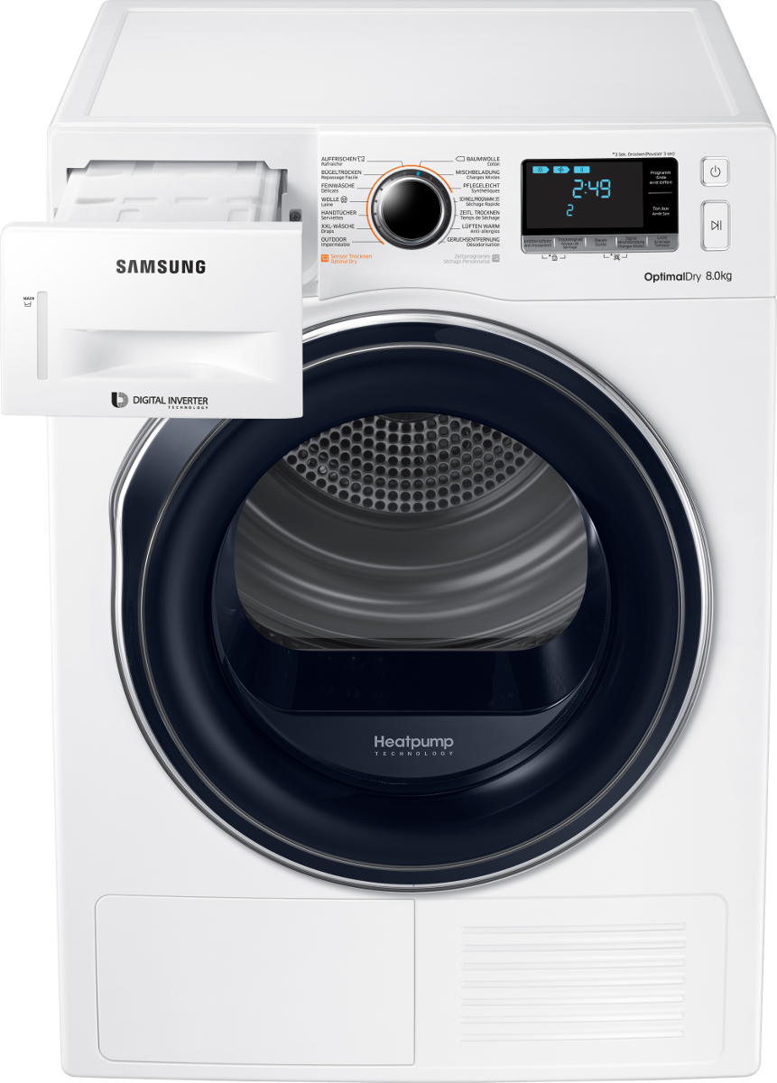 samsung dv80m6210cw ws s che linge efficacit nerg tique a blanc s che linge avec. Black Bedroom Furniture Sets. Home Design Ideas