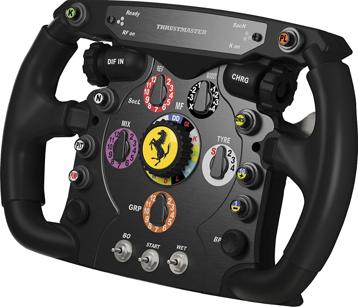 thrustmaster ferrari f1 lenkrad f r pc ps3 ps4 xone. Black Bedroom Furniture Sets. Home Design Ideas