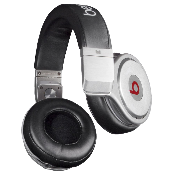 beats by dr dre pro schwarz silber g nstig kaufen dj. Black Bedroom Furniture Sets. Home Design Ideas